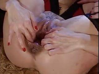 Lesbians Double Hot Fisting vs Latex Harcore Sluts