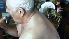 Silverdaddy Grampa Giving A Blowjob