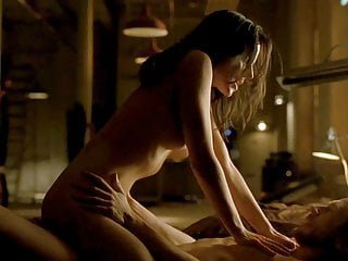 Anna Silk Rides A Guy In Lost Girl Series ScandalPlanet.Com