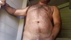 Wagon driver naked