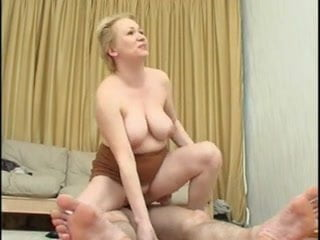 Cute blonde chubby milf 2