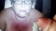 TRIBUTE:  Love giving wives Facial xx