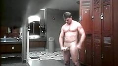 locker room stroke by dad