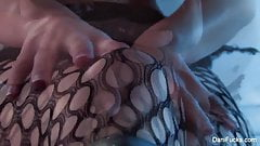 Disco queen Dani Daniels teases the camera with her hot body