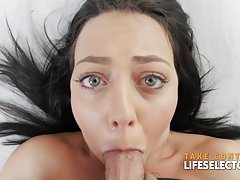Cock Hungry Lusty Babes Devour Huge Dick