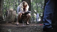 Hidden Cam In Forest Girl Pee Part 8