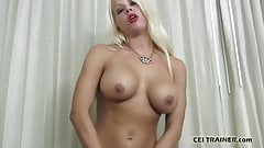 You will follow my instructions and swallow your cum CEI