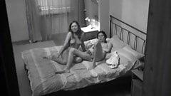Voyeur lusting after teen couple