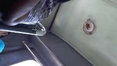 Sri lankan teen girl tight panty upskirt in a bus