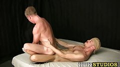 Older gay blows dick with virility before breeding