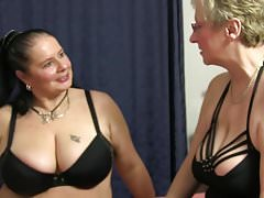 XXX OMAS - Hot lesbian threesome with horny German grannies