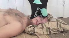 Foot Domination in Socks