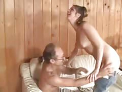SB2 Girl From Next Door Offers Old Guy A Blow Job !