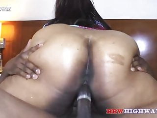 Big Butt Ebony Mature Named Macchiatobbw