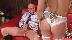 Swinger Housewife Fucks A Bald Dude