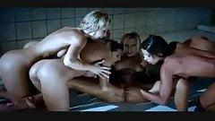 HQ Shower Lesbian Orgy Gangbang NK12
