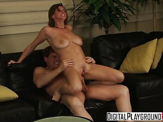 Sara Stone gets fucked hard on the couch - Digital Playgroun