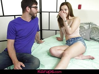 Karups - Liza Rowe Gets Her Teen Pussy Drilled