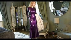 latex fetish Evening dress