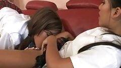 Lesbian Schoolgirls : Isis & Lana.