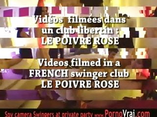 French Swingers party in a private club ! Part2