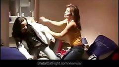 Slutty roommate girls catfight for a ring's Thumb