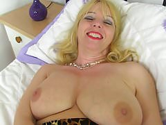 Busty British mom Lucy Gresty with amazing tits