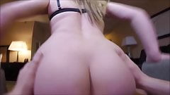 Girl with an amazing ass fucked by her boy