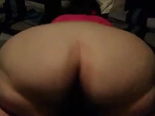 Huge cock fills pussy
