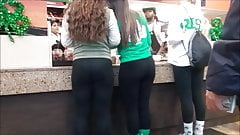 St Pats Parade 3 BEEFY FAT PAWG ASSES IN TIGHTS!!!!
