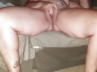 Getting her pussy ready for me right now
