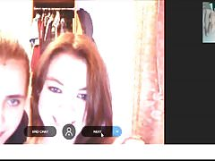 Omegle Girls reaction they smile
