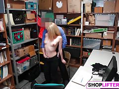 Nubile Sweety Alexy Gets Drilled By The Officer