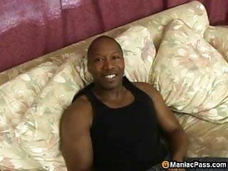 MILF taking big black cock