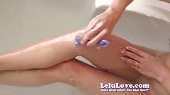 Shaving my legs and armpits in the bathtub