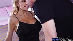 PORNFIDELITY Kenzie Taylor Uses Big Tits To Make Him Cum