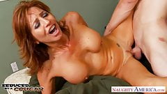 Chesty cougar Tara Holiday fucking
