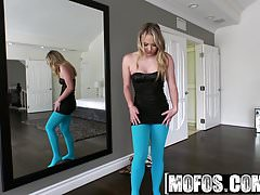 Mofos - I Know That Girl - A Hard Fuck in Torn Stockings sta