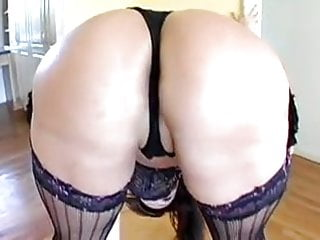 Great ass torture - Sexy latin milf has a great ass for anal