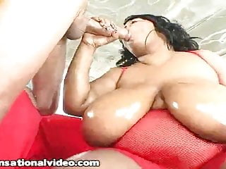 Black BBW Pink Kandi Ride and Fucks Huge White Cock