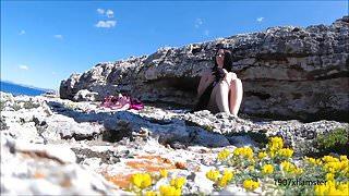 Hidden Cam Spy Beach Angry Nude Blowjob Stranger