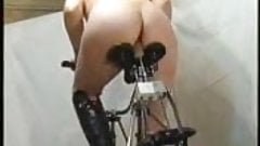 Fucking machine bicycle dildo - coolbudy