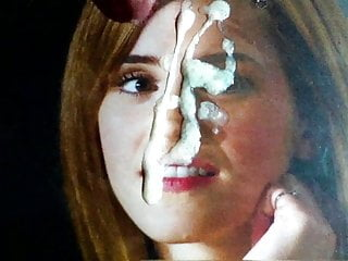 Emma Watson Huge Double Facial Cum Tribute II