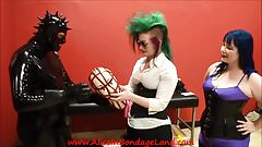 Behind Scenes Rubber Interview Latex Fetish Gummi Gear