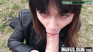 Mona Kim - Russian MILFs Creampie - Public Pick Ups