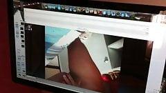 amiga se masturbando pelo skype