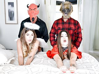 DaughterSwap - Hot Daughters Tricked And Fucked By Dads