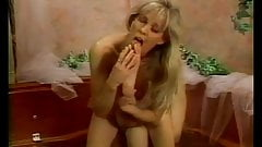 Kinky lesbian sluts have foot fetish