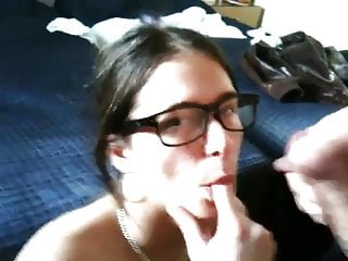 She did not pay the rent, then she got a huge facial
