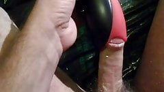 Cobra Libre on a lubed up cock wanking jerking off